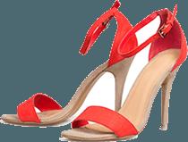 scarpe con tacco, sandali da donna, scarpe estive