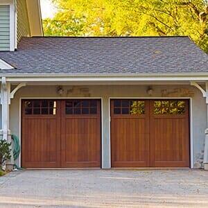 Traditional American Home With Garage   Garage Door Repair In San  Bernardino, CA