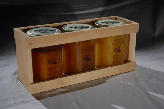 crate box for jars