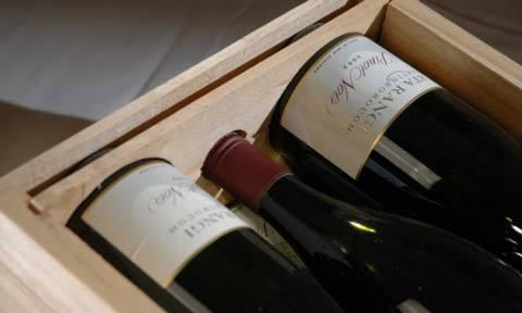 wine export transport Auckland