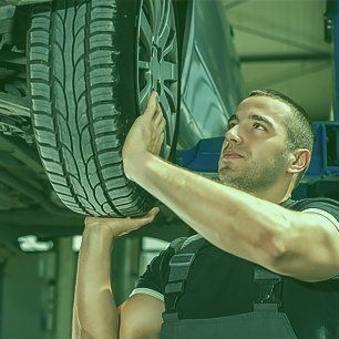 wheel servicing