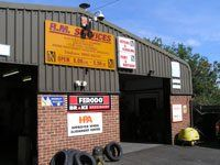 R M Services garage