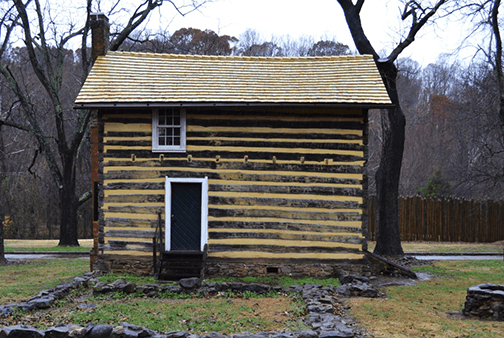 Historic Bethabara Park Log House