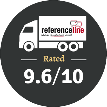 Reference Line 9.6 out 10