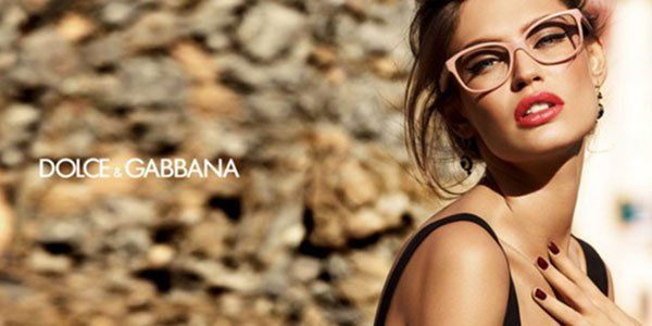 Montatura per occhiali di Dolce e Gabbana
