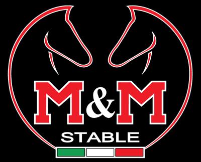 M&M stable - scuola di equitazione maneggio logo