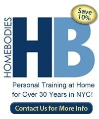 Contact HomeBodies for NYC Aerobic Personal Trainers