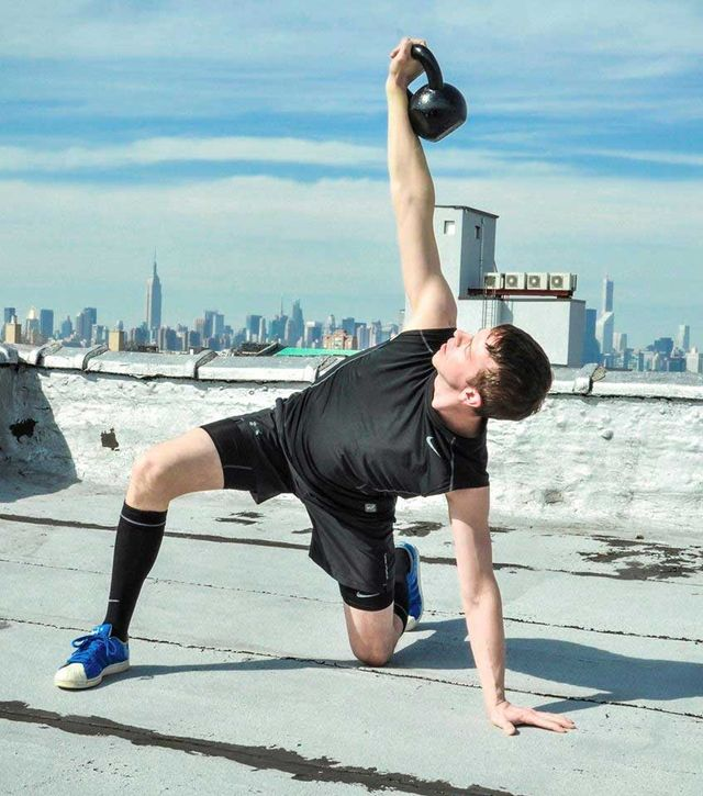 Mark, a HomeBodies NYC Kettlebell Personal Trainer