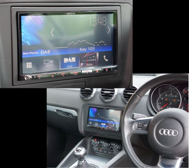 Audi Tt With Kenwood Dmx7017dab