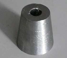 cone-shaped lead