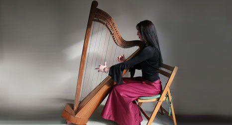 Qualified harp tutor