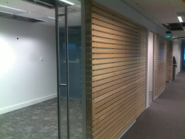 Retail outlet after completion