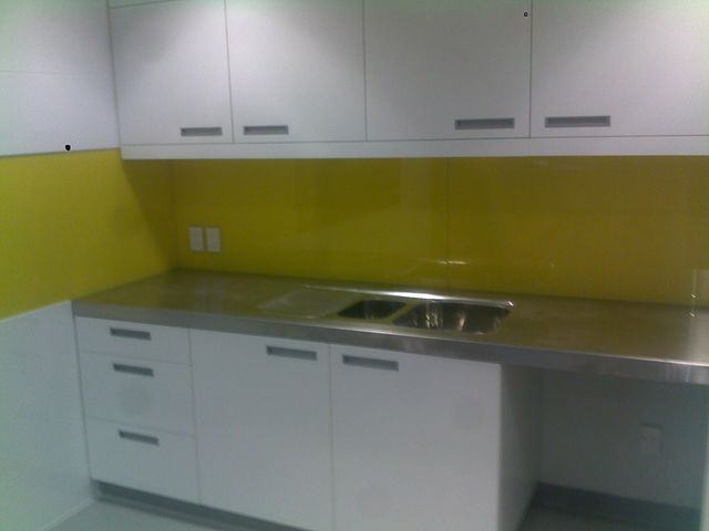 Completed renovation work