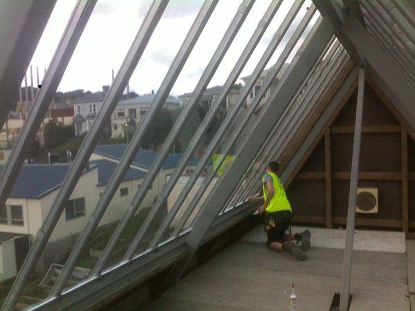 Renovation work at commercial premises under process
