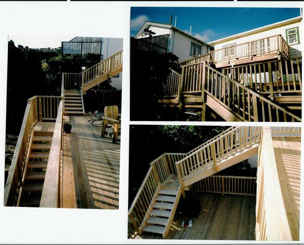 Newly done staircase by experts