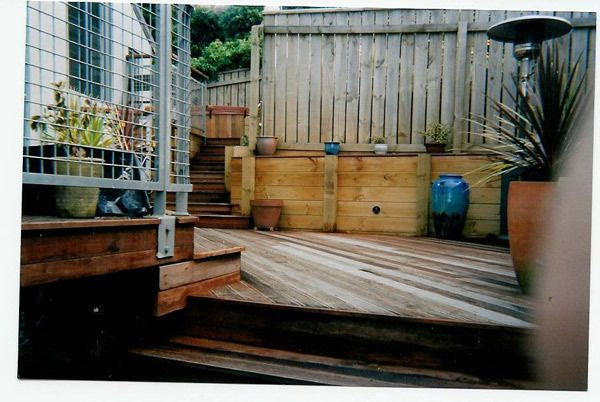 Deck work completed by experts