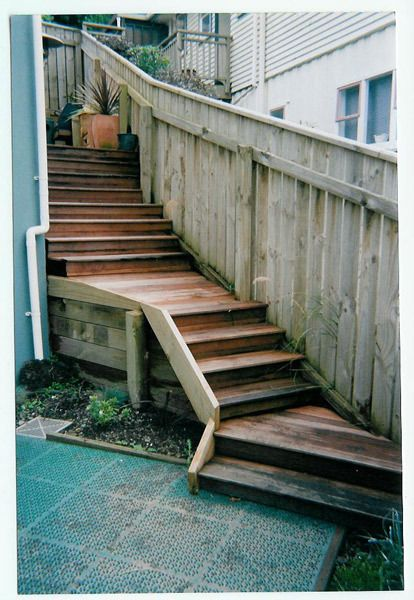 Repaired staircase by experts