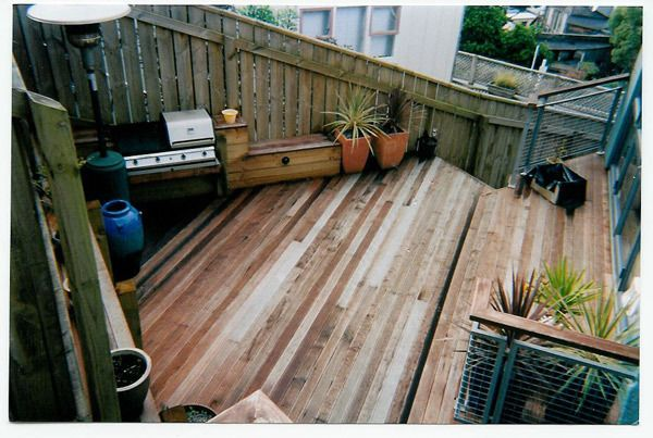Deck after renovation by experts