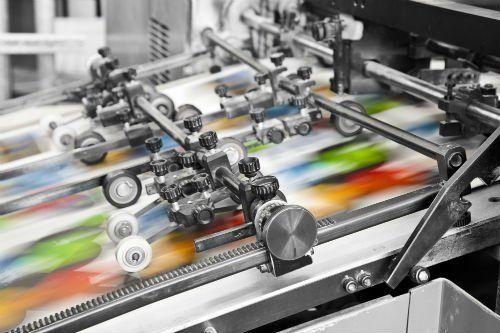 Macchinario per stampe digitali a colori