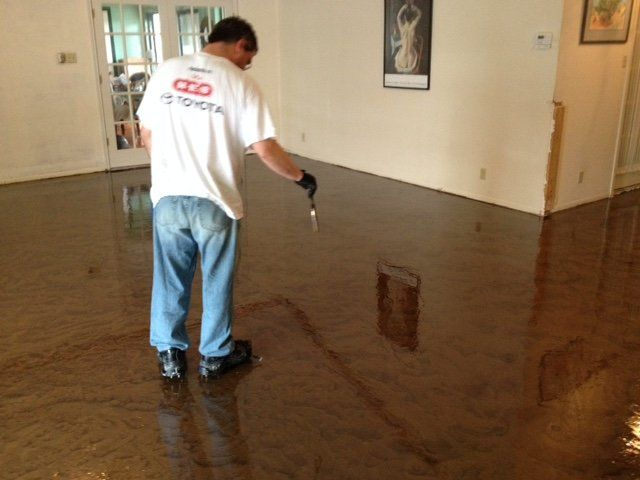Installing Epoxy Flooring In Kyle Tx