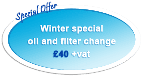 Winter special oil and filter change