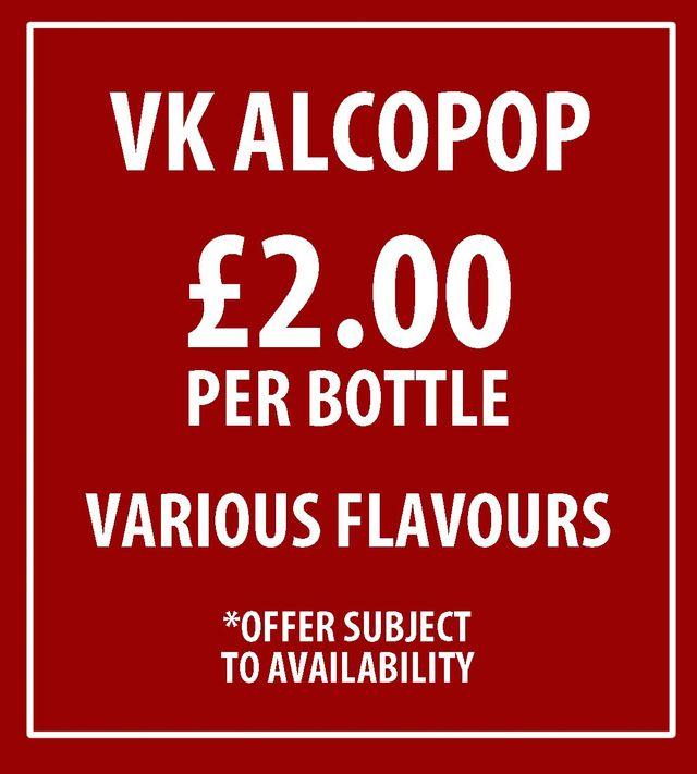 VK Alcopop