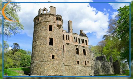 Huntly Castle, Aberdeenshire.