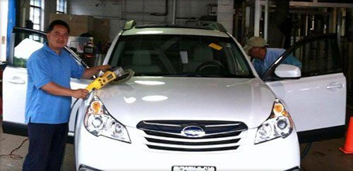 Car wash and detailing service ewing new jersey prospect auto spa cleaning the white car auto washing polishing in ewing nj solutioingenieria Images