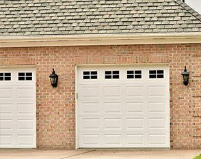 Matching up and over garage doors