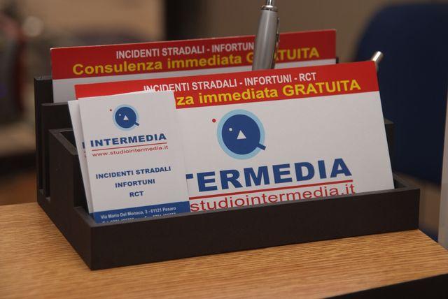 Vista di un'incidente a Pesaro
