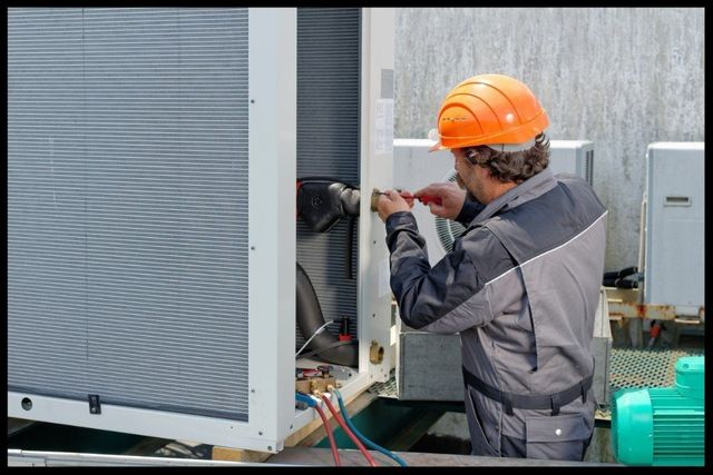 commercial HVAC services in Dominion, TX