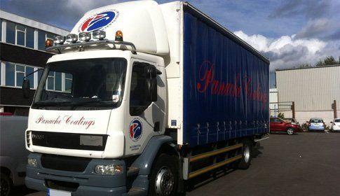 Panache Coatings lorry