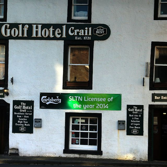 Exterior for the Golf Hotel