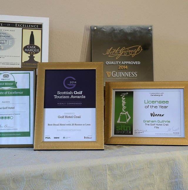 Awards of the Golf Hotel
