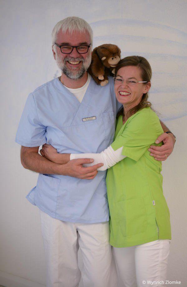 Kinderzahnbehandlung in Narkose: Narkosearzt Dr. Maier