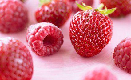 A wide selection of seasonal soft fruits