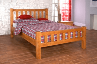 Alnwick Pine Bed Frame