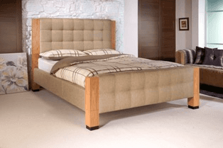 Forest Fabric Bed Frame