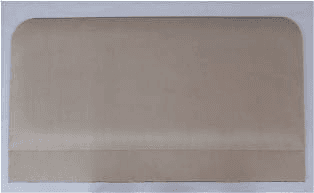 Upholstered Leather Look Headboard