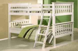 Olveston White Bunk Bed