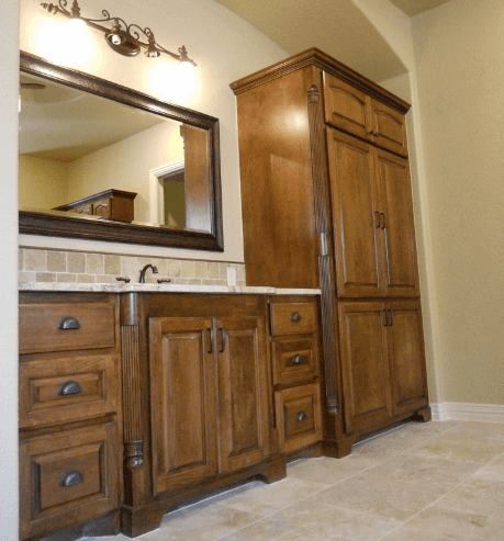bathroom cabinets company. exellent cabinets custom bathroom cabinets with linen storage built by cabinet makers  jb murphy company inside bathroom cabinets company a