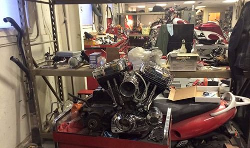 Fabrication of motorcycle along with engine repair in Bettendorf, IA