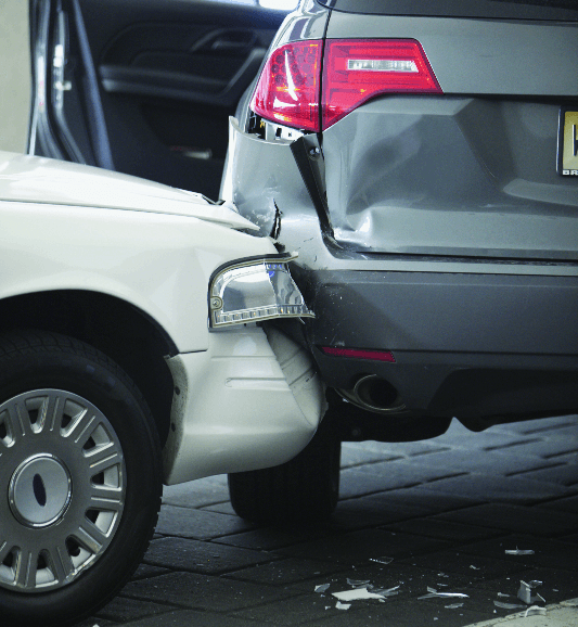 Car accident resulting in a personal injury