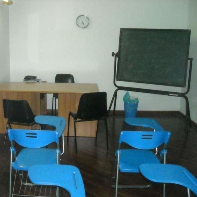 aula di studio e conversazione