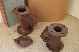 Rilsan coatings applied to metal fittings