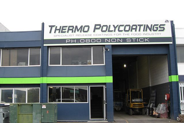 Thermo Polycoatings shop front in New Zealand