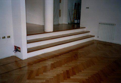 modello classico pavimento in legno