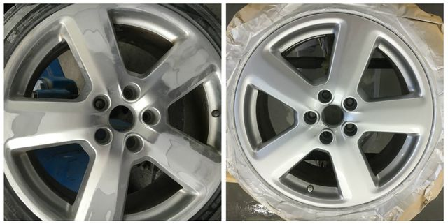 alloy wheel refurbished