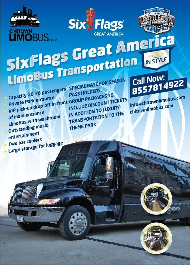 Six Flags Limo Bus Service