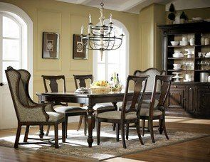 ART Furniture Traditional Wood Dining Room Set And Chairs